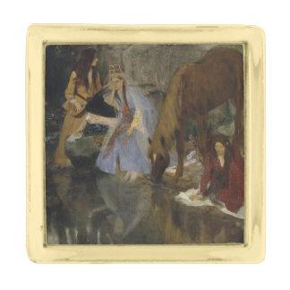 Mlle Fiocre en fuente del La del ballet de Edgar