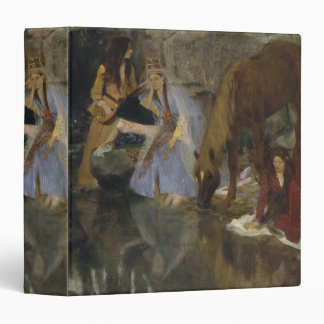Mlle Fiocre in Ballet La Source by Edgar Degas 3 Ring Binders