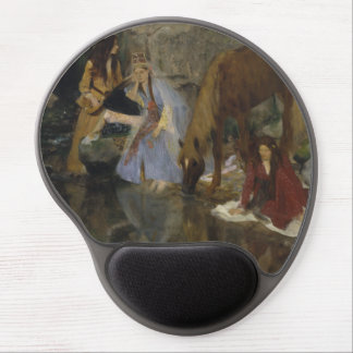Mlle Fiocre in Ballet La Source by Edgar Degas Gel Mouse Pad