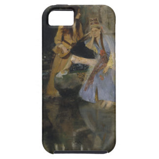 Mlle Fiocre in Ballet La Source by Edgar Degas iPhone SE/5/5s Case