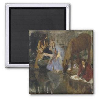 Mlle Fiocre in Ballet La Source by Edgar Degas Magnet