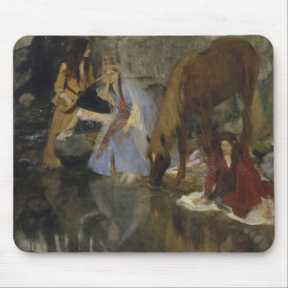 Mlle Fiocre in Ballet La Source by Edgar Degas Mouse Pad