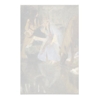 Mlle Fiocre in Ballet La Source by Edgar Degas Stationery