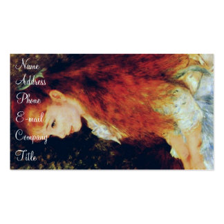 'Mlle Irene Cahen' Double-Sided Standard Business Cards (Pack Of 100)