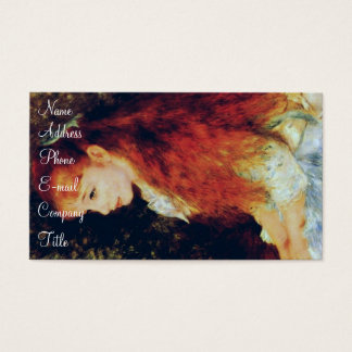 'Mlle Irene Cahen' Business Card