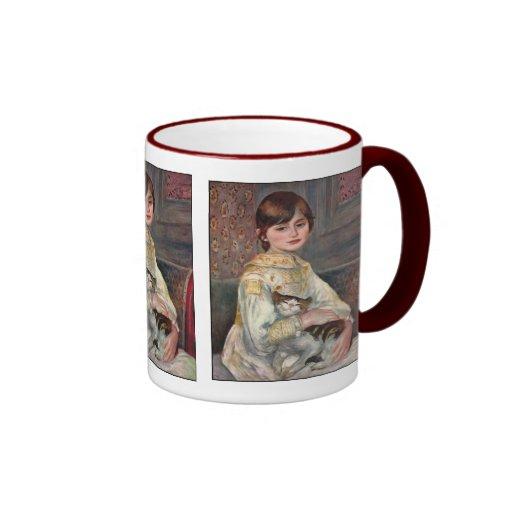 Mlle. Julie Manet with Cat Mug