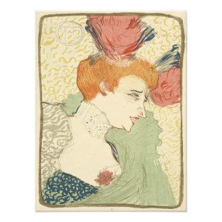 Mlle Marcelle Lender by Henri de Toulouse-Lautrec Photographic Print