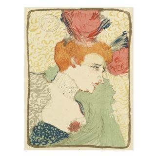 Mlle Marcelle Lender by Henri de Toulouse-Lautrec Postcard