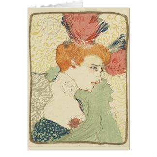 Mlle Marcelle Lender by Henri Toulouse-Lautrec Card