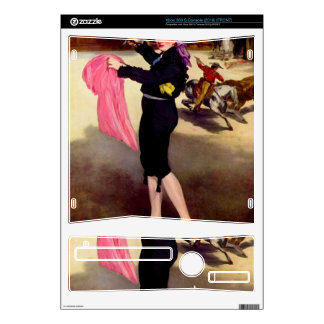 Mlle. Victorine in the Costume of a Matador -Manet Xbox 360 S Skins
