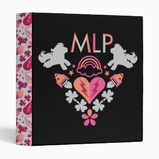 MLP Retro Logo Binder