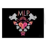 MLP Retro Logo Card