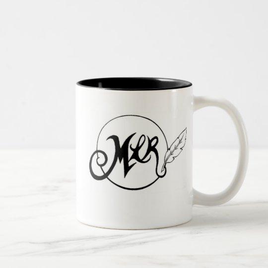 MLR logo Two-Tone Coffee Mug