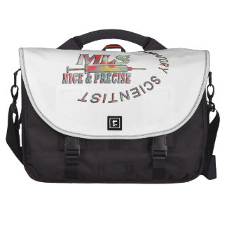 MLS NICE AND PRECISE MEDICAL LABORATORY SCIENTIST LAPTOP BAGS