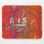 MLS NICE AND PRECISE MEDICAL LABORATORY SCIENTIST MOUSE PAD