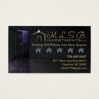 MLSB Investments Business Card