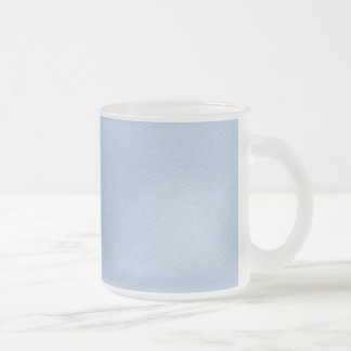 MLSBB SOLID LIGHT BABY BLUE BACKGROUNDS WALLPAPERS FROSTED GLASS COFFEE MUG