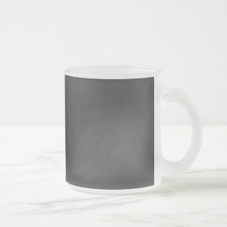 MLSBG SOLID BLACK TEMPLATE BACKGROUND WALLPAPER FROSTED GLASS COFFEE MUG