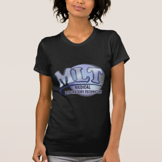 MLT FunBlue LOGO - MEDICAL LABORATORY TECHNICIAN T-Shirt