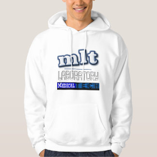 MLT LOGO - LABORATORY MEDICAL TECH HOODED PULLOVER