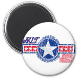MLT MADE IN AMERICA - MEDICAL LABORATORY TECH MAGNETS