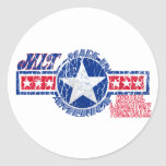 MLT MADE IN AMERICA - MEDICAL LABORATORY TECH STICKERS