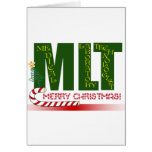 MLT MERRY CHRISTMAS - MEDICAL LAB TECH GREETING CARDS