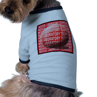 MLT SPHERE MEDICAL LABORATORY TECHNOLOGIST DOGGIE T-SHIRT