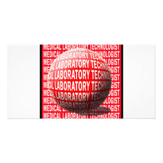 MLT SPHERE MEDICAL LABORATORY TECHNOLOGIST CUSTOM PHOTO CARD