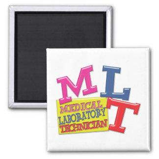 MLT WHIMSICAL FUN ACRONYM LETTERS LABORATORY FRIDGE MAGNET