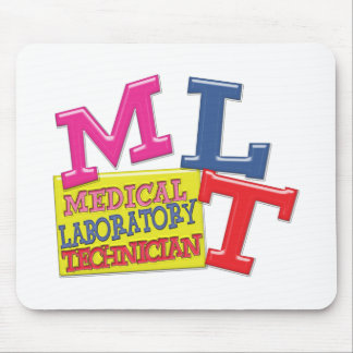 MLT WHIMSICAL FUN ACRONYM LETTERS LABORATORY MOUSE PAD