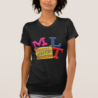MLT WHIMSICAL FUN ACRONYM LETTERS LABORATORY SHIRT