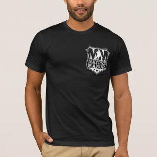 MM - Badge in Black T-Shirt