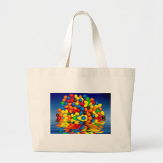 MM chocolate sweets Large Tote Bag