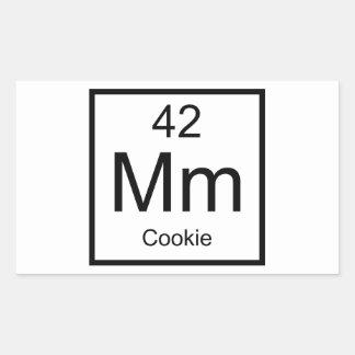 Mm Cookie Element Rectangular Sticker