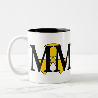 MM for the Machinist's Mate Two-Tone Coffee Mug