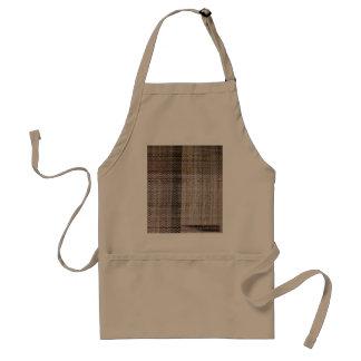 mm handwovens chocolate adult apron