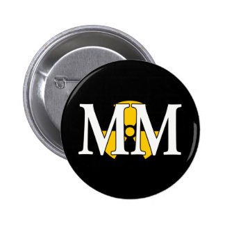 MM - Machinist's Mate Pinback Button