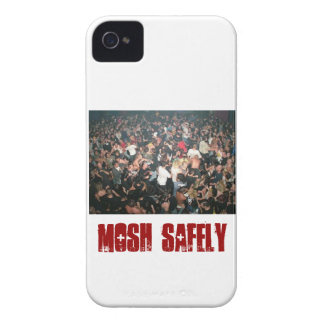 MM- Mosh Safely iPhone 4 Case