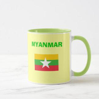 MM Myanmar Country Code Mug