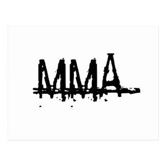 MMA1 POSTCARD