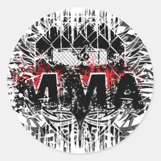 MMA 01 CLASSIC ROUND STICKER