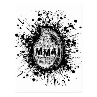MMA 13 POSTCARD