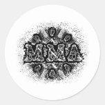 MMA 14 ROUND STICKERS