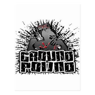 MMA 23 POSTCARD