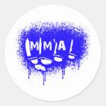 MMA 24 CLASSIC ROUND STICKER
