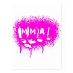 MMA 24 POSTCARD