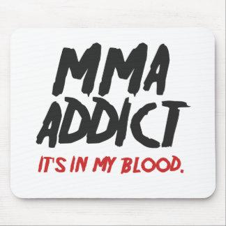 MMA addict Mouse Pad