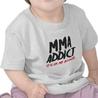 MMA addict T-shirt