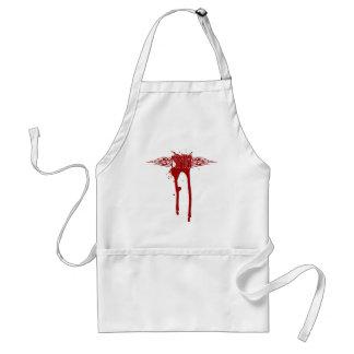 MMA_Blood2 Adult Apron